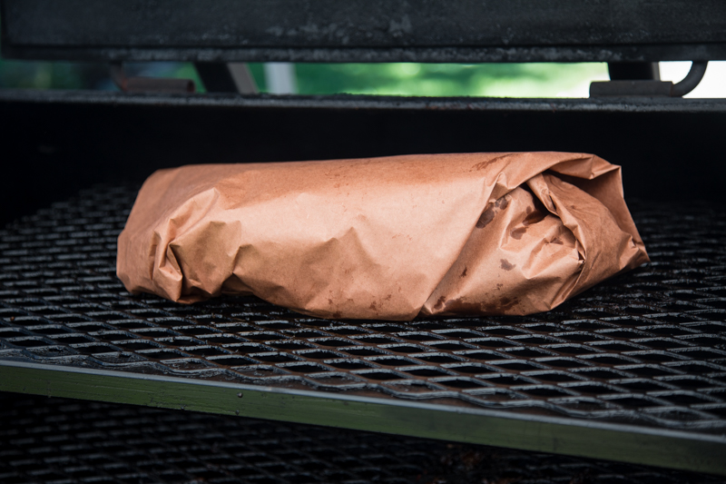 Wrapping Brisket
